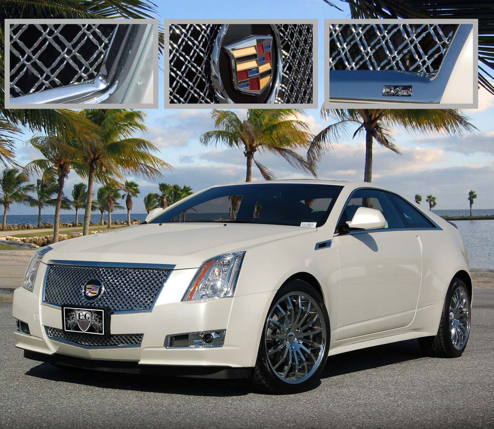 2008 2009 2010 2011 2012 2013 CADILLAC CADY CTS 2PC DUAL