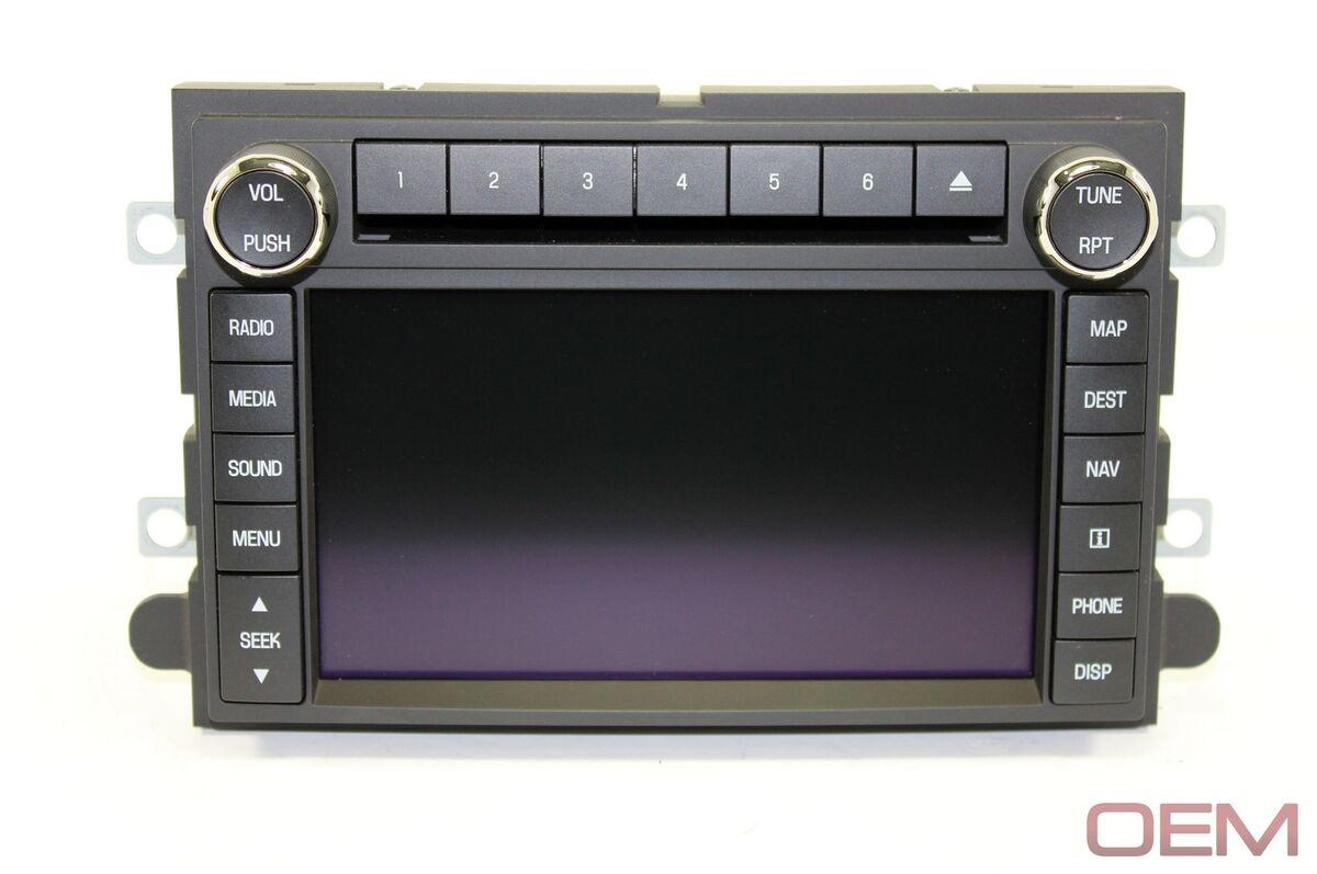 2009 2010 2011 2012 2013 2014 Ford Expedition Navigation DVD Sync GPS Radio