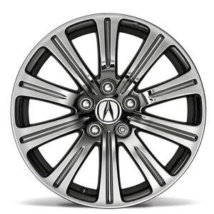 Acura on 2012 Acura Tl 18  Chrome Look Alloy Accessory Wheel Oem New   Set 4