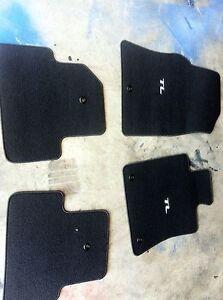 2009 Acura on Details About 2009 2013 Oem Acura Tl Black Carpet Floor Mats