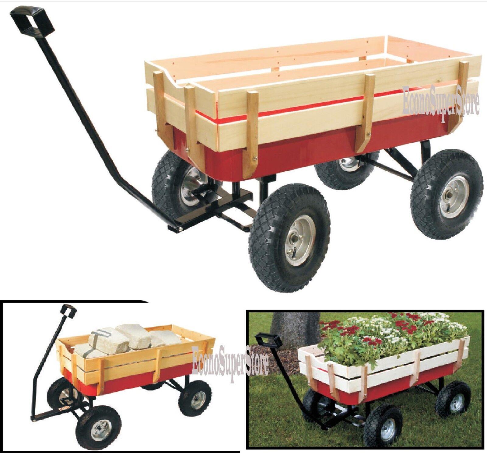 Cat Pulling Wagon : All terrain cargo wagon radio flyer autos post