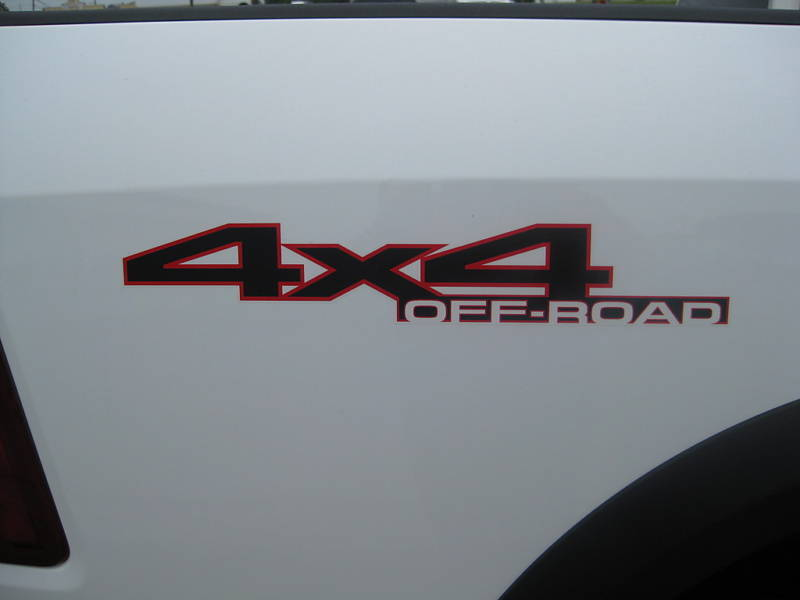 2010 Dodge RAM Power Wagon Emblem Badge Decal 4x4 Mopar