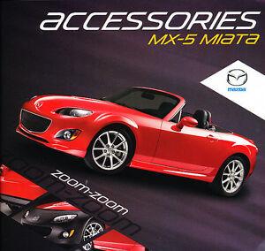 2010 mazda mx 5 mx5 miata accessories sales brochure catalog ebay. Black Bedroom Furniture Sets. Home Design Ideas