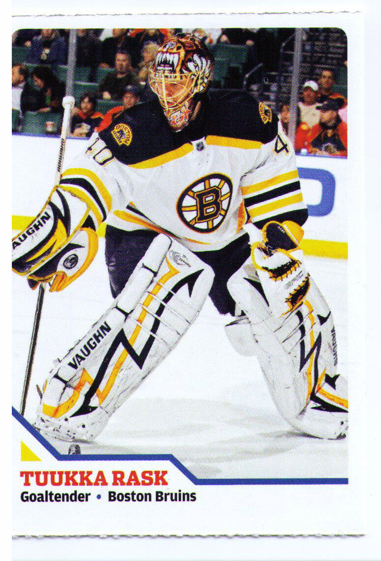 2010 Tuukka Rask Sample Promo Hockey Trading Card Boston Bruins