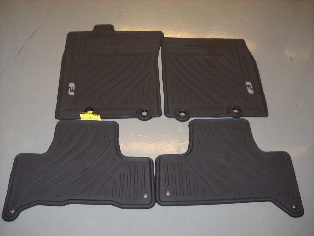 2011 2012 toyota fj cruiser all weather floor mats black. Black Bedroom Furniture Sets. Home Design Ideas