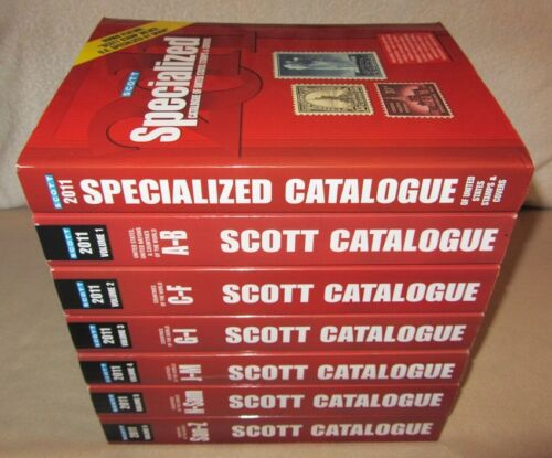 2011 SCOTT Standard Postage Stamp Catalogue complete 7 volumes COLOR A-Z in Stamps, Publications & Supplies, Publications | eBay