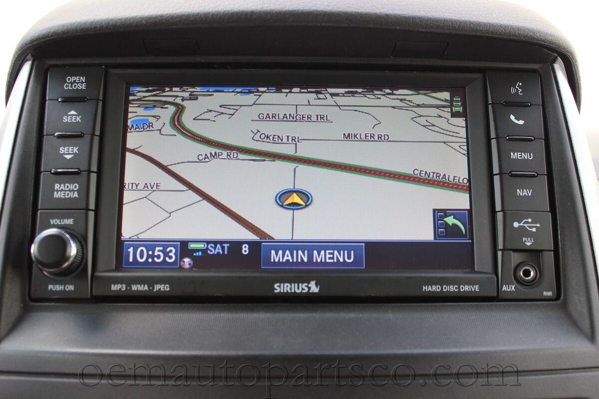 Dodge RAM 1500 2500 3500 730N RHR CD GPS Mygig Radio