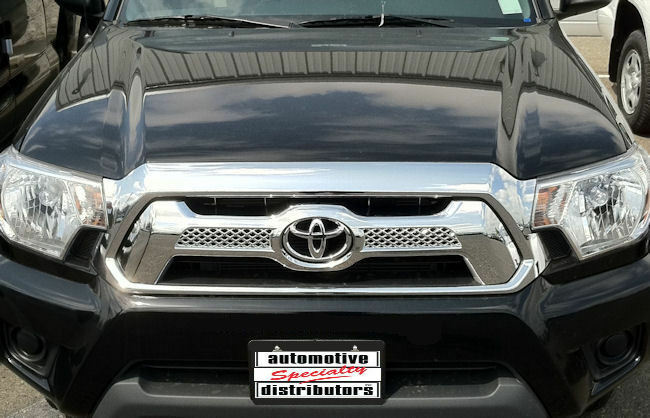 Toyota Tacoma X Runner For Sale >> 1PC CHROME ABS OVERLAY GRILLE GRILL FITS 2012 2013 2014 ...