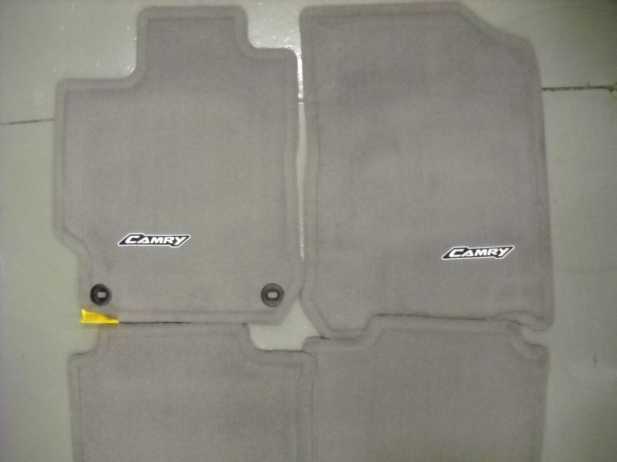 2012 2013 Toyota Camry Carpet Floor Mats Ash Gray PT208 03120 13