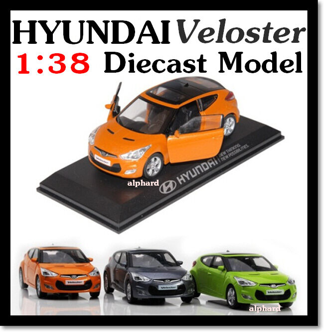 2012+ HYUNDAI Veloster Diecast Model Mini Car 138 Toy