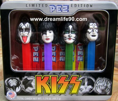 2012 KISS Pez Set MINT IN BOX GIFT TIN - LOW US AND INTERNATIONAL SHIPPING in Collectibles, Pez, Keychains, Promo Glasses, Pez | eBay