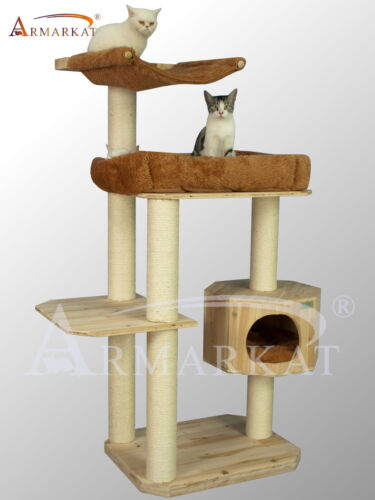"2012 New Design 61"" High Armarkat Solid Wood Cat Tree Furniture S6107, Promotion in Pet Supplies, Cat Supplies, Furniture & Scratchers 