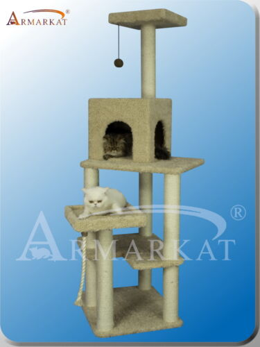 2012 New Style~Armarkat cat tree furniture condo scratching post house A6902 in Pet Supplies, Cat Supplies, Furniture & Scratchers | eBay