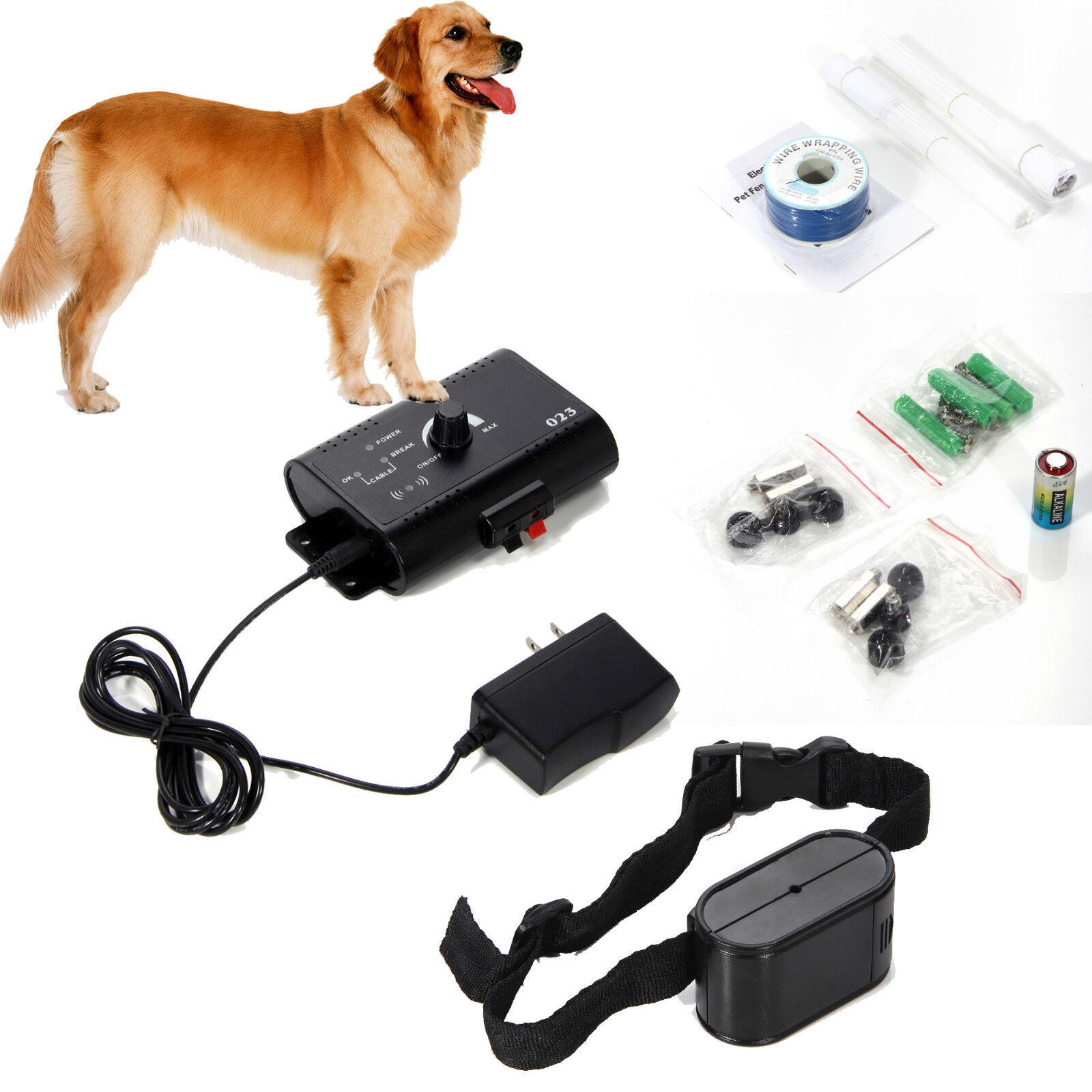 Medium Large Anti Bark Control Pet Shock Vibrate Trainer