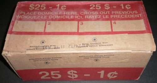 2012 RCM Logo Penny 1 One Cent '12 Canada BU Coin MAGNETIC MINT Roll Box of 50 in Coins & Paper Money, Coins: Canada, Small Cents   eBay