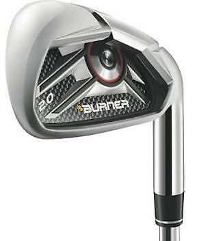 2012 TaylorMade Burner 2.0 HP Irons Golf Clubs Stiff Flex Steel Shafts New RH in Sporting Goods, Golf, Clubs | eBay