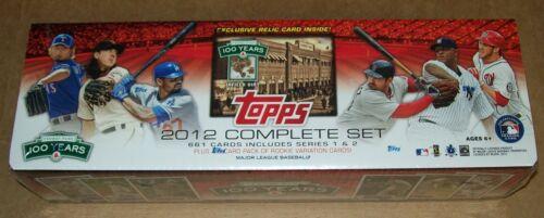 2012 Topps Baseball Fenway 100th Factory Set Bryce Harper rookie RC dirt relic in Sports Mem, Cards & Fan Shop, Cards, Baseball | eBay