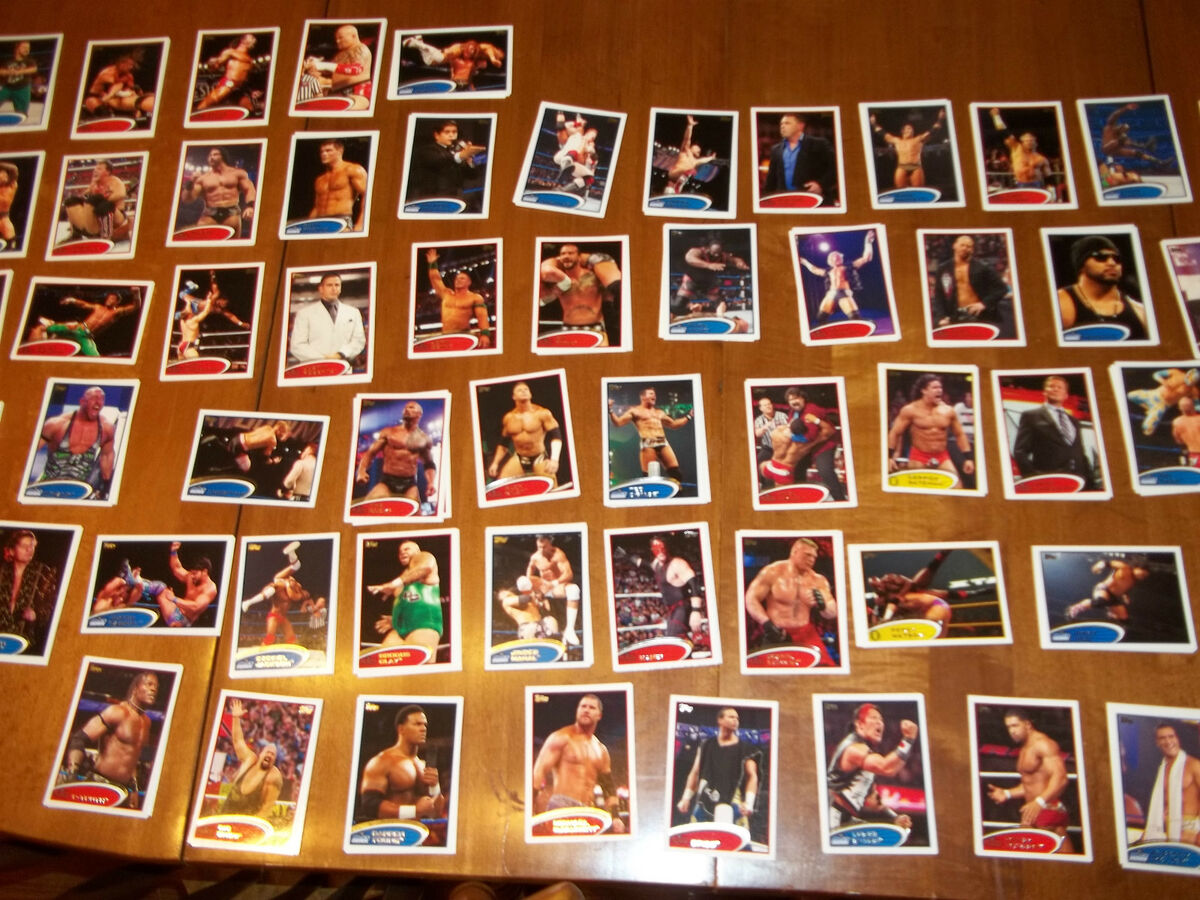 2012 Topps WWE Raw John Cena Wrestling Card 1