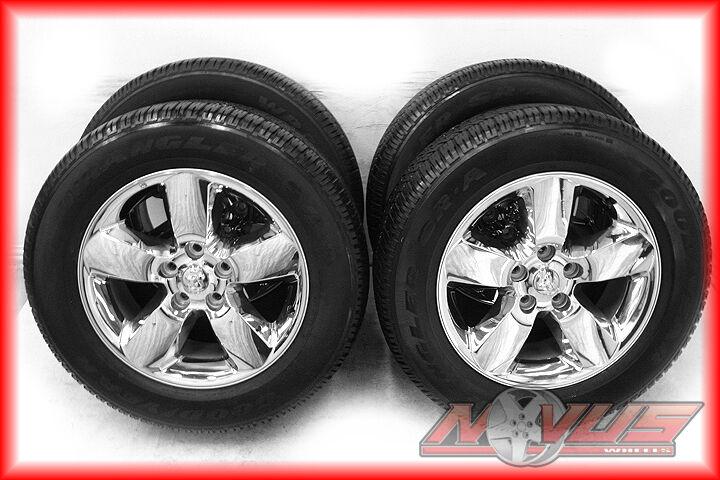 "2013 20"" Dodge RAM 1500 Bighorn Durango Factory Wheels Goodyear Tires 22"