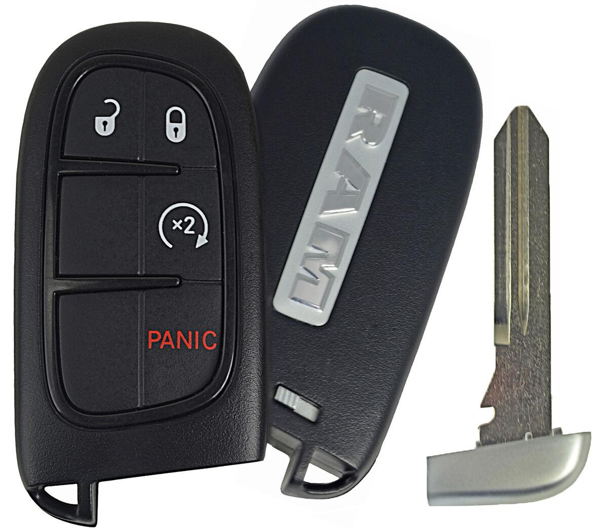 2013 2014 Dodge RAM 1500 2500 3500 Truck Remote Fobik Key Fob Transmitter 4 But