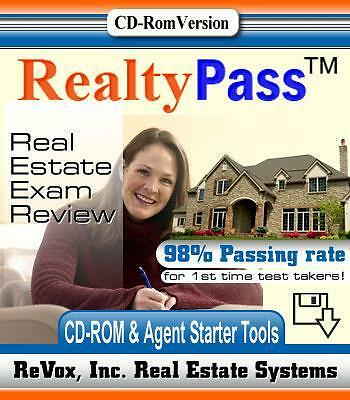2013 CALIFORNIA REAL ESTATE EXAM PREP STUDY GUIDE QUESTIONS & ANSWERS CD in Everything Else, Career Development & Education, Real Estate | eBay