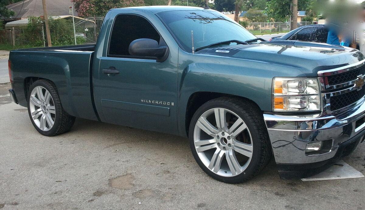 """2013 Chevy Silverado 24"""" Wheels Rims Fit 2007 2008 2009 2010 2011 Tahoe 22"""""""