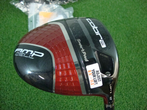 2013 COBRA AMP CELL RED 8.5* 9.5* 10.5* 11.5* DRIVER FUJIKURA FUEL REGULAR RH in Sporting Goods, Golf, Clubs | eBay