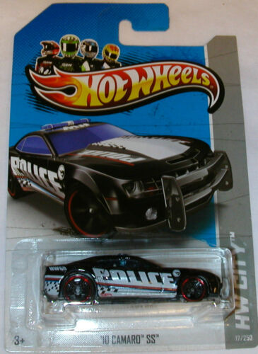2013 Hot Wheels Treasure Hunt-'10 Camaro SS HW City Police Car in Toys & Hobbies, Diecast & Toy Vehicles, Cars, Trucks & Vans | eBay