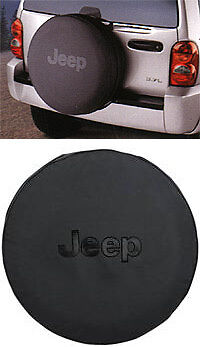 2013 Jeep Wrangler Tire Cover Black Jeep Logo Mopar Genuine Brand New