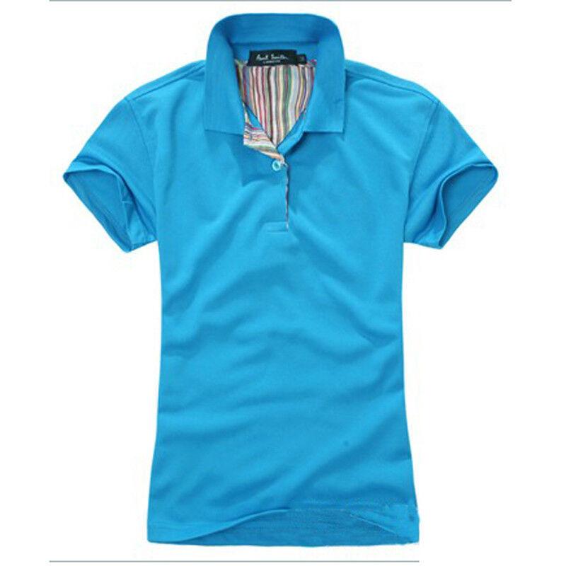 Summer Men 39 S Boy Plain Short Sleeve Polo Shirts Lapel