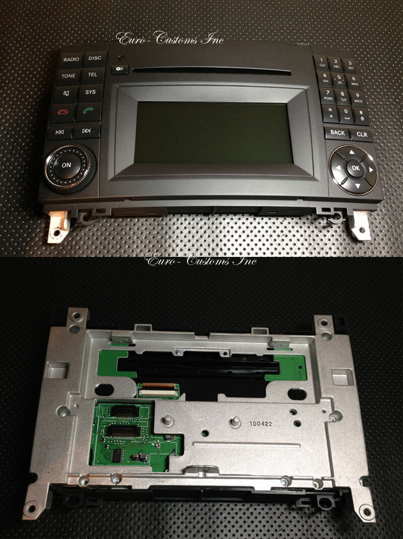 2013 mercedes audio 20 w169 front screen plate a b w169. Black Bedroom Furniture Sets. Home Design Ideas