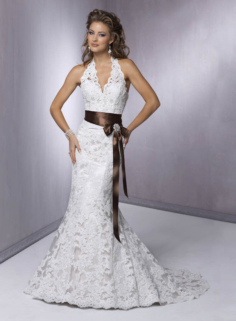 new lace white ivory wedding dress bridal gown size 6 8 10 12 14 16