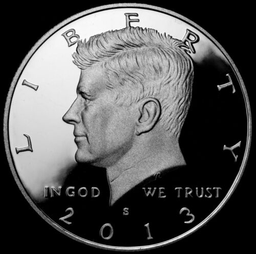 2013 S Kennedy Half Dollar ~ Silver Mint Proof ~ Deep Cameo ~ From US Proof Set in Coins & Paper Money, Coins: US, Half Dollars | eBay