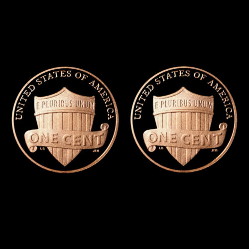 2013 S Lincoln Shield Penny ~ Gem Mint Proof ~ Deep Cameo ~ Set of Two US Coins in Coins & Paper Money, Coins: US, Small Cents | eBay