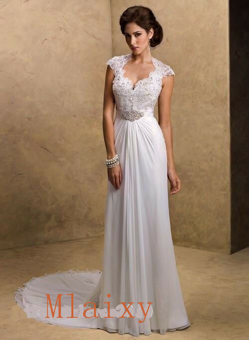 2013 sexy chiffon open back wedding dress eveningball