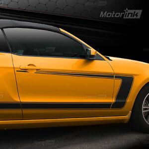 Mustang Side Stripe Decals