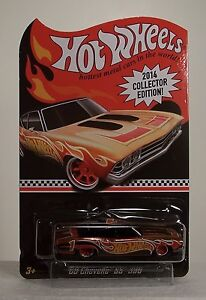 2014 HOTWHEELS '69 CHEVELLE SS 396 2014 COLLECTOR EDITION KMART DAYS