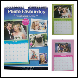 2014-Personalise-your-own-12-Month-PHOTO-CALENDAR-Add-your-Photoss