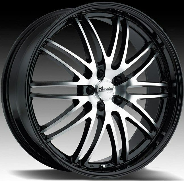 Racing Prodigo 5x120 35 Black Rims Wheels Fit BMW 325 330 x3 Z3