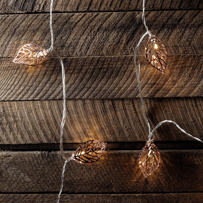 20er led lichterkette 3d bl tter herbst weihnachts deko beleuchtung strom innen 8718532356251 ebay. Black Bedroom Furniture Sets. Home Design Ideas