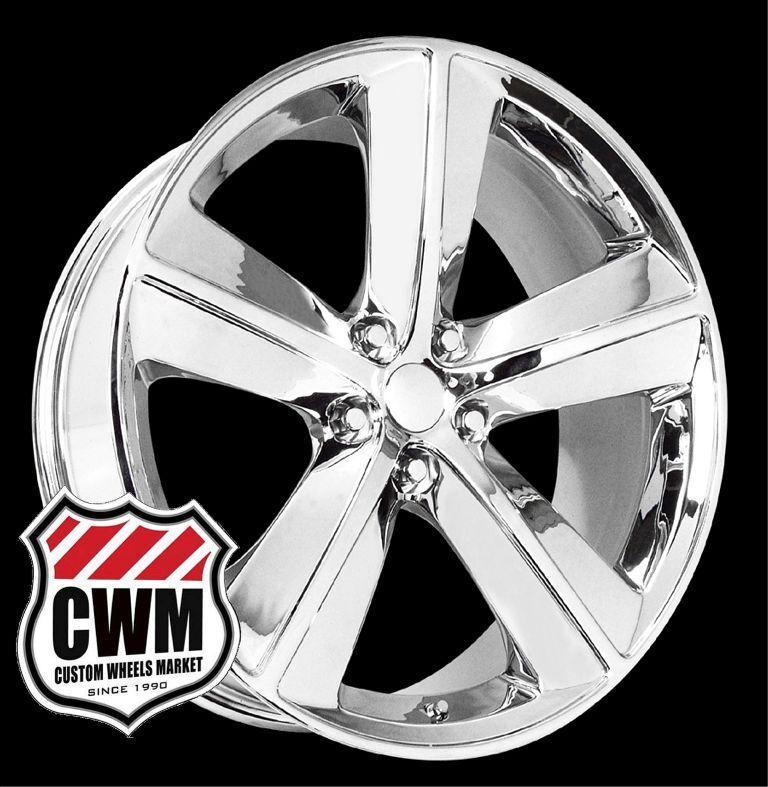 Challenger SRT8 Style Chrome Wheels Rims for Dodge Challenger 2010