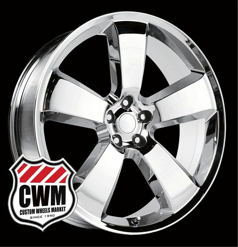 Dodge Charger SRT8 Style Chrome Wheels Rims for Chrysler 300 2010