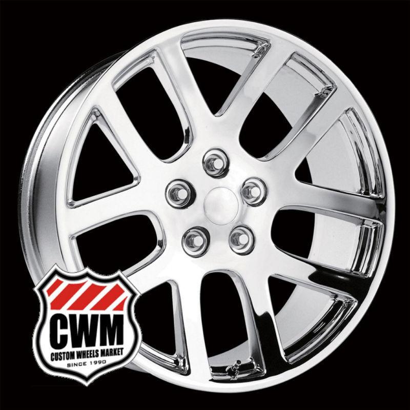 20x9 SRT10 Style Replica Chrome Wheels Rims 5 Lug for Dodge RAM 1500 2002 2011