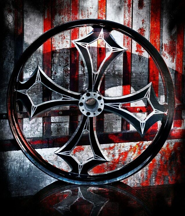 Custom 21 Inch Motorcycle Wheels for Harley-Davidson