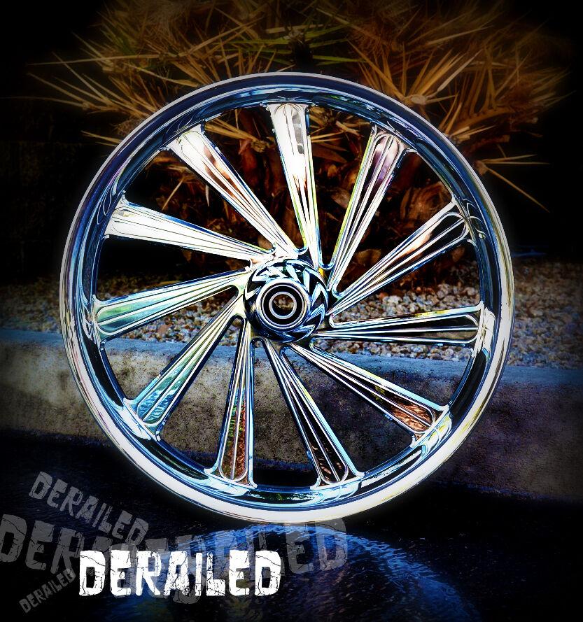 "21"" inch Custom Motorcycle Wheel Rims for Honda Fury Metric Cruiser Chrome"