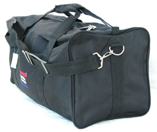 "22"" 40LB. CAPACITY BLACK DUFFLE BAG / GYM BAG / LUGGAGE/ CARRY ON NATIONAL TOUR in Travel, Luggage 