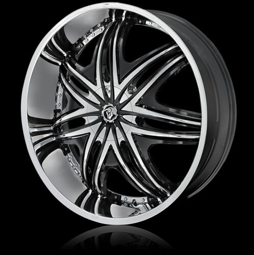 22 INCH DIABLO MORPHEUS RIMS AND TIRES CADILLAC MUSTANG ALTIMA MAXIMA FWD CARS