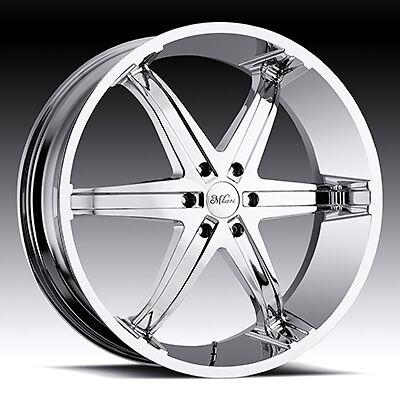 Kool Whip 6 5x135 F 150 Lightning Expedition Chrome Wheels Rims