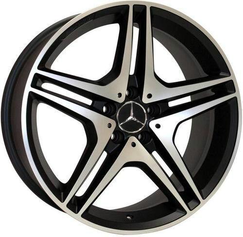 "22"" Wheels for Mercedes R350 ML350 500 GL450 550 Set of 4 Rims AMG Style"
