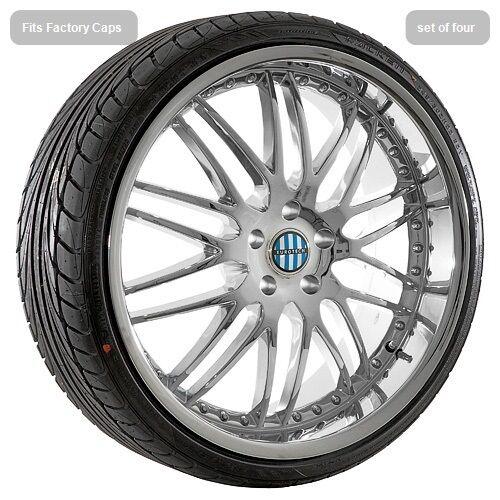"22"" inch Chrome Deep Dish Wheels Rims Tires Fit BMW 6 7 Series 645 M6 745 750"